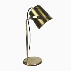 Vintage Tischlampe aus massivem Messing