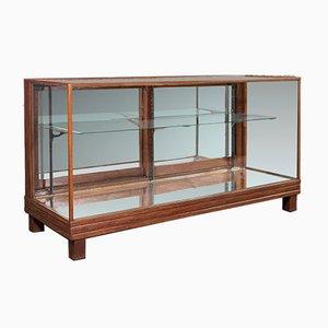 Antique English Edwardian Mahogany Haberdasher's Display Cabinet