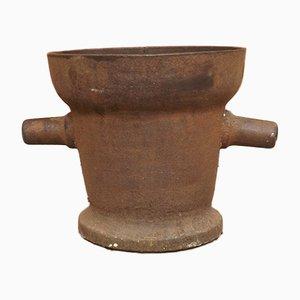 Antique Iron Chemist's Mortar, 16th-Century