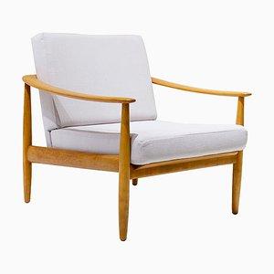 Mid-Century Sillon Armlehnstuhl von Carl Straub für Goldfeder, 1960