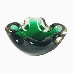 Mid-Century Murano Glass Ashtray from Made Murano Glass, 1960s