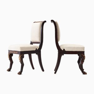 Early 19th Century French Side Chairs, Set of 2