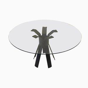 Tavolo da pranzo Longobardo di Angelo Mangiarotti, Italia, anni '70