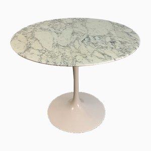 Vintage Marble Tulip Dining Table by Eero Saarinen for Knoll International
