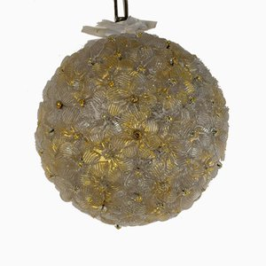 Ceiling Light from Barovier and Toso, Italy, 1960s