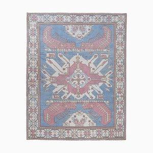 Übergroßer handgeknüpfter Vintage Kars Teppich