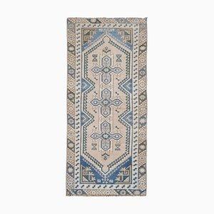 Vintage Turkish Dosemealti Runner Rug
