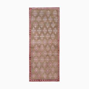 Vintage Turkish Floral Karapinar Rug
