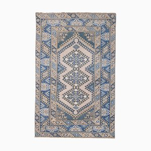 Tapis Oushak Vintage Bleu, Turquie