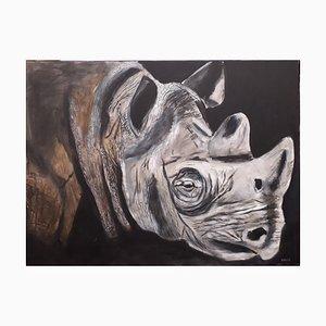 Rhino de Anita Amani Dorp