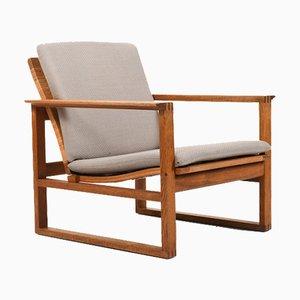 Model Bm-254 Easy Chair by Børge Mogensen for Fredericia