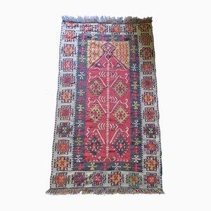 Antiker anatolischer Kelim Teppich, 1900er