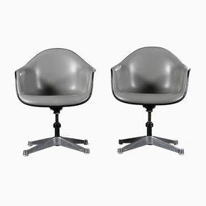 Vintage Armchairs by Charles & Ray Eames for Herman Miller, Set of 2