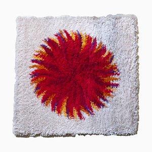 Roter Dahlia Rya Teppich von Gram