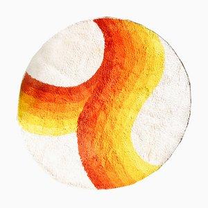 Red, Orange & Yellow Rainbow Carpet from Desso