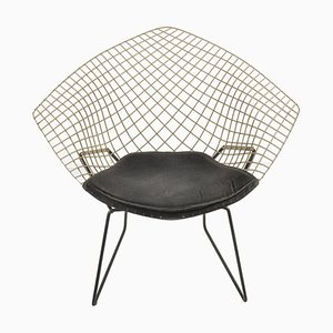 White Diamond Chair by Harry Bertoia for Knoll