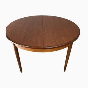 Tavolo da pranzo rotondo vintage di V. Wilkins per G-Plan