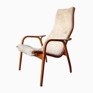 Mid-Century Swedish Lamino Lounge Chair by Yngve Ekström for Swedese, 1960s