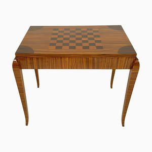 Art Deco Game Table, France, 1930s