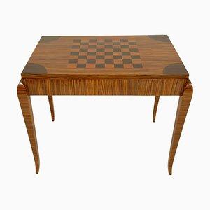 Mesa de juegos Art Déco, años 30
