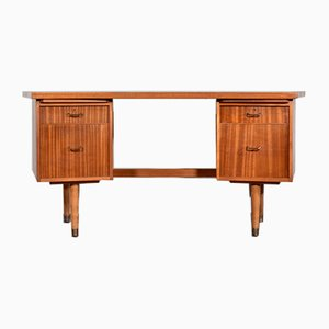 Mid-Century Walnut Secretaire Desk from Morris of Glasgow, 1960s