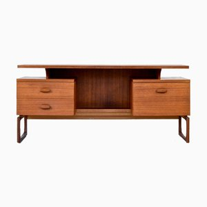 Teak Desk with Floating Top from G-Plan, 1960s