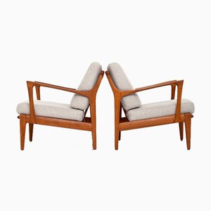 Kuba Lounge Chairs by Bertil Fridhagen for Bröderna Andersson, Set of 2