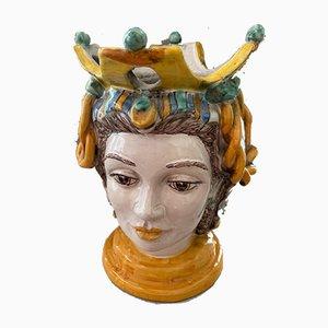 Italian Ceramic Flower Pot or Vase