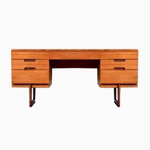 Teak Schreibtisch von Gunther Hoffstead für Uniflex, 1960er