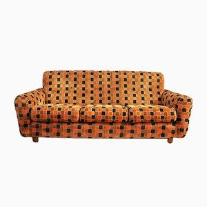 Plaid Chenille Sofa, 1970s