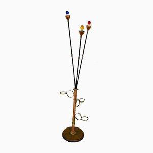 Vintage Rutenhalter Lampe