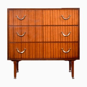 Walnut Chest of Drawers from Meredew, 1960s