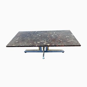 Fossilized Marble Coffee Table