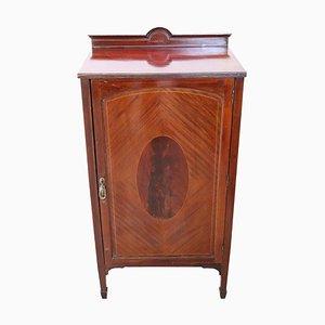 Small Art Nouveau Mahogany Cabinet, 1910s
