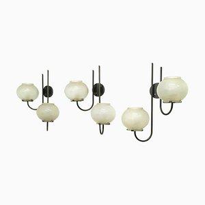 1136/2 Wandlampe von Tito Agnoli für O-Luce, Italien, 1961