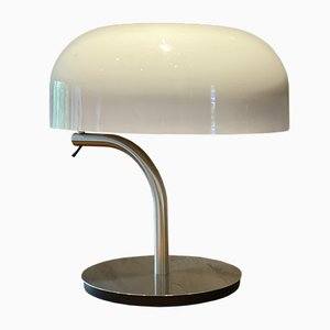 Metal & Plexiglas Table Lamp by Giotto Stoppino, 1970s