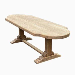 Tavolo da pranzo grande in legno di quercia sbiancato