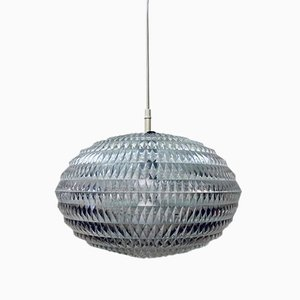 German Diamond Pendant Lamp by Aloys Gangkofner for Erco, 1960s