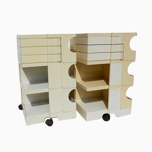 Vintage Storage Carts by Joe Colombo for Bieffeplast, 1970s, Set of 2