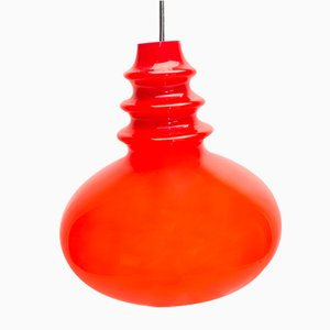 Red Pendant Lamp from Peill & Putzler