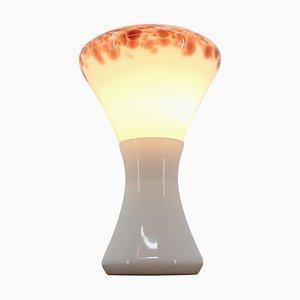 Große Glas Tisch- oder Stehlampe, 1970er