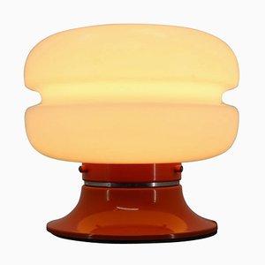 Lampe de Bureau Orange, Allemagne, 1970s