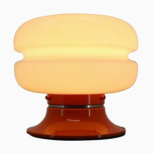 Orangefarbene Tischlampe, Deutschland, 1970er