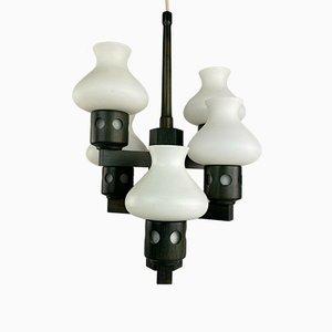 Dänische Vitrika Deckenlampe, 1960er