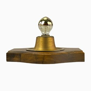 Brass Wall Lamp, 1960s