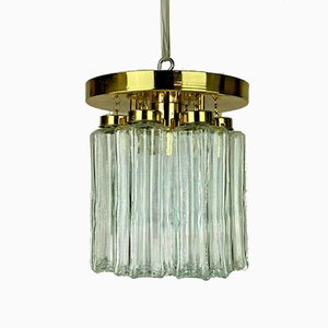 Glass Ceiling Lamp, 1970s