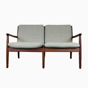 Teak Sofa von Grete Jalk für Glostrup, 1960er