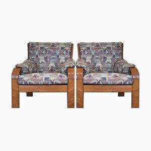 Dänischer Teak Sessel von Olsen & Laursen, 1960er, 2er Set