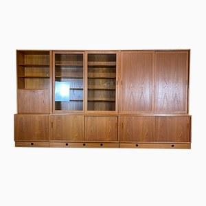 Danish Bookcase Cabinet by Poul Hundevad, 1960s