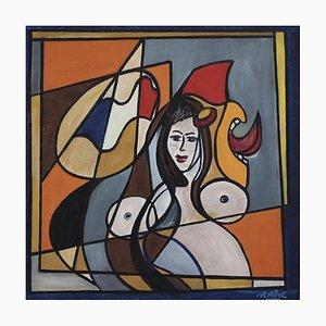 Retrato de Marianne de Edgar Stoëbel, años 60